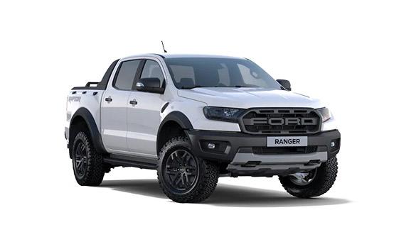 Ford ranger blanc